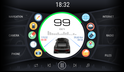 Imágen 7 de Curve - theme for CarWebGuru launcher para android