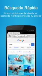 Screenshot 6 de Navegador 4G - Rápido, Pequeño para android
