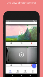 Screenshot 2 de aiwatch - opensource ip camera viewer/monitor para android