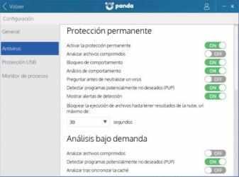 Imágen 1 de Panda free Antivirus para windows