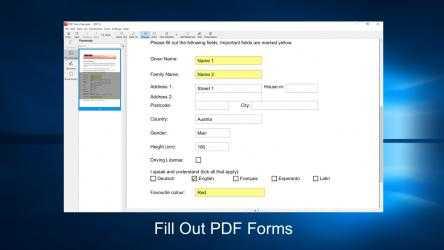 Captura 2 de PDF X: PDF Editor, PDF Reader, Annotate PDF para windows