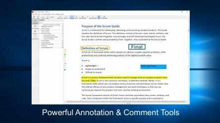 Screenshot 1 de PDF X: PDF Editor, PDF Reader, Annotate PDF para windows