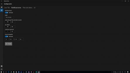 Captura de Pantalla 3 de Network Data para windows