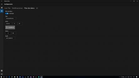 Captura 4 de Network Data para windows