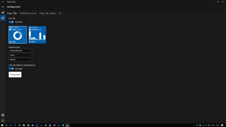 Captura 2 de Network Data para windows