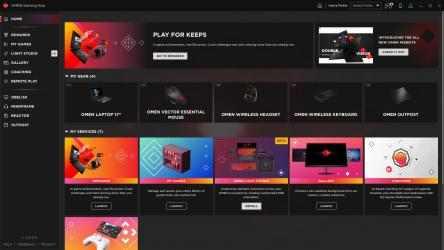 Screenshot 1 de OMEN Gaming Hub para windows
