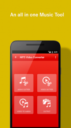 Screenshot 2 de vídeo al convertidor de mp3 para android