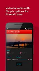 Imágen 3 de vídeo al convertidor de mp3 para android