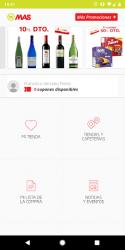 Captura de Pantalla 2 de Supermercados MAS: cupones ahorro y ofertas para android