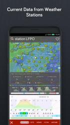 Screenshot 8 de Windy.com: pronóstico de vientos, olas y huracanes para android