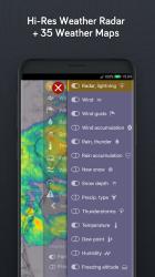 Screenshot 6 de Windy.com: pronóstico de vientos, olas y huracanes para android