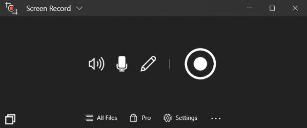 Captura 1 de ScreenRecord Master para windows