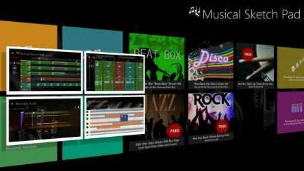 Captura de Pantalla 8 de Musical Sketch Pad para windows