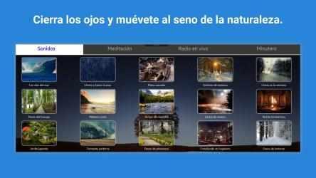 Captura de Pantalla 1 de Relajate naturaleza sonidos para windows