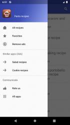 Screenshot 9 de Pasta recipes for free app offline with photo para android