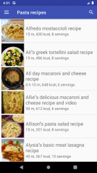 Imágen 2 de Pasta recipes for free app offline with photo para android