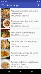 Screenshot 7 de Pasta recipes for free app offline with photo para android