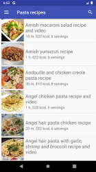 Captura 5 de Pasta recipes for free app offline with photo para android