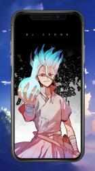 Screenshot 4 de Dr stone HD wallpapers - Dr Stone Anime 2020 para android
