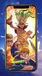 Screenshot 6 de Dr stone HD wallpapers - Dr Stone Anime 2020 para android