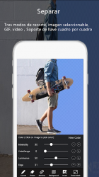 Screenshot 5 de VideoAE-editor de video,effects videos for TikTok para android