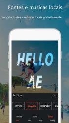Captura de Pantalla 9 de VideoAE-editor de video,effects videos for TikTok para android