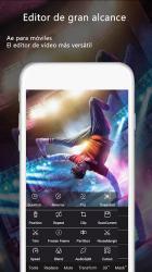 Captura de Pantalla 4 de VideoAE-editor de video,effects videos for TikTok para android